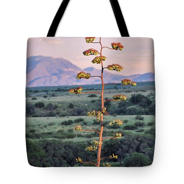 Tote Bag featuring the photograph Centuryplant by Gina Savage