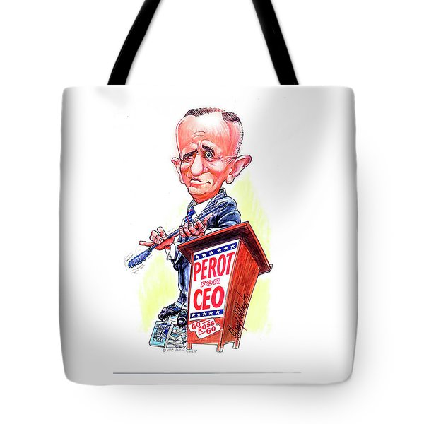 Ceo Ross Perot Tote Bag