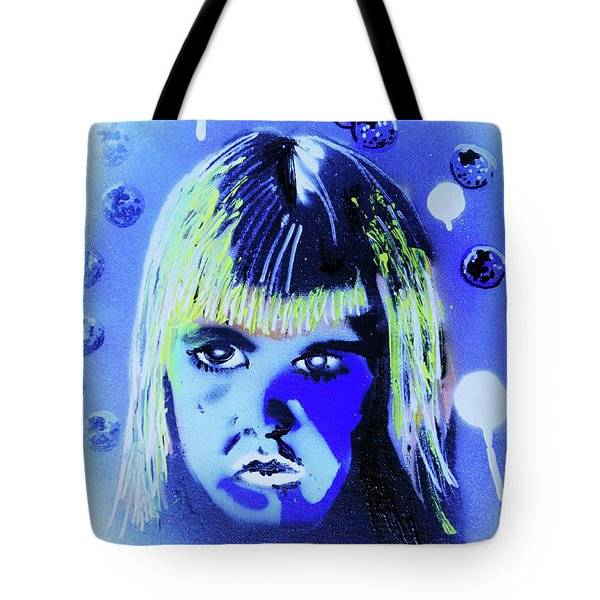 Tote Bag featuring the painting Cereal Killers - Boo Berry  by eVol i