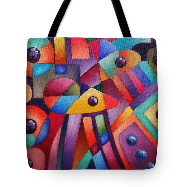 Cerebral Decor # 6 Tote Bag