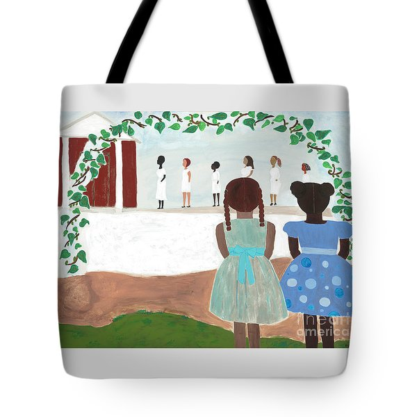 Ceremony In Sisterhood Tote Bag
