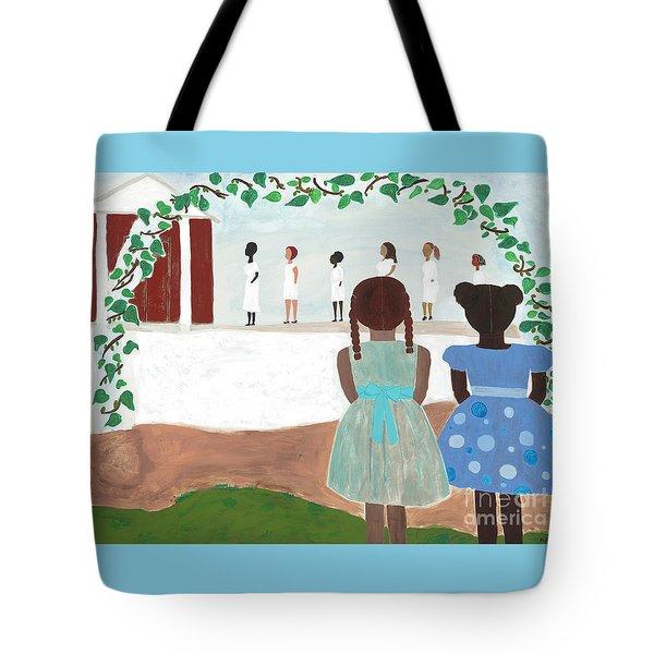 Ceremony In Sisterhood Tote Bag