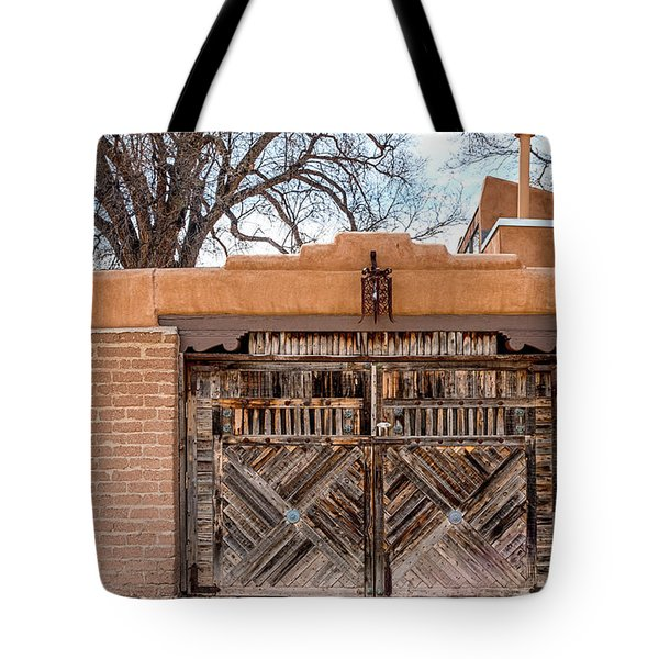 Cerrillos Gate Tote Bag