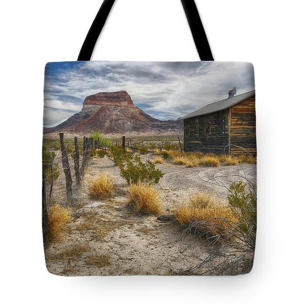 Cerro Castellan - Big Bend - Color Tote Bag