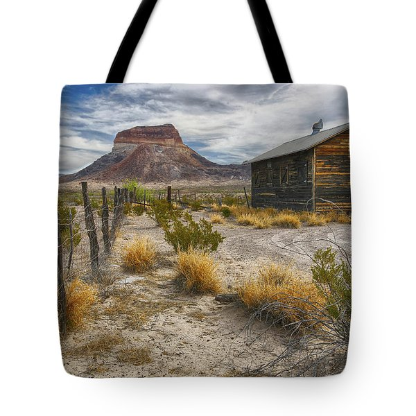 Cerro Castellan - Big Bend - Color Tote Bag