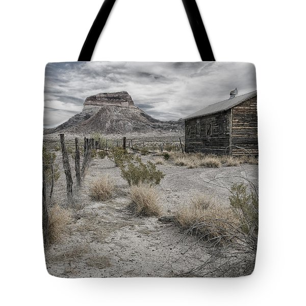 Cerro Castellan - Big Bend  Tote Bag