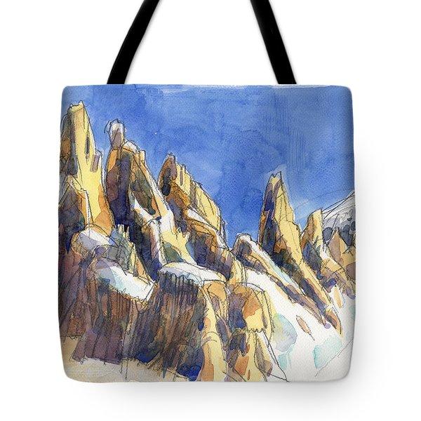 Cerro Torre, Patagonia Tote Bag