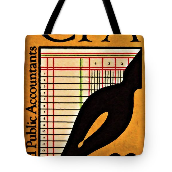 Certified Public Accounting Issue Tote Bag