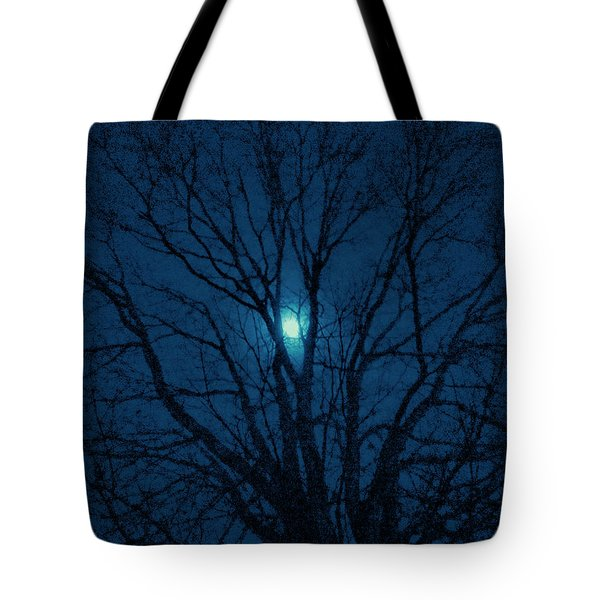 Cerulean Night Tote Bag by Denise Beverly