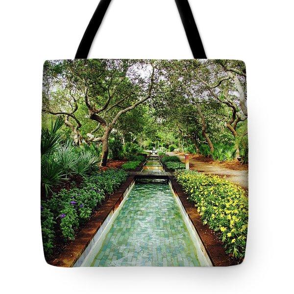 Cerulean Park Tote Bag