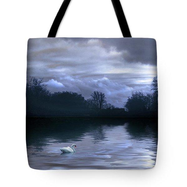 Cerulean Skies Tote Bag