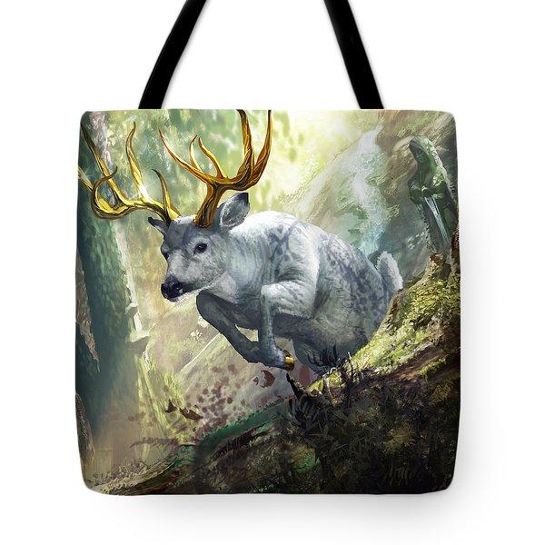 Cerynitian Hind Tote Bag