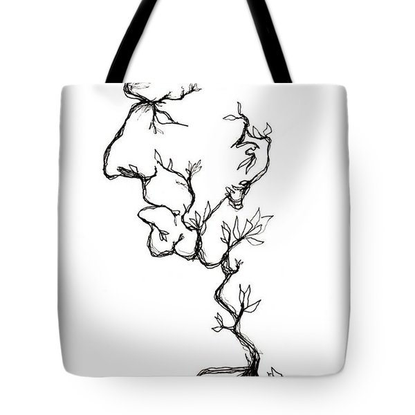 Cesar Salad-cracked Pots Tote Bag