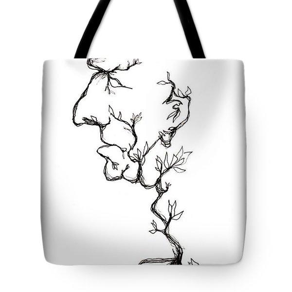 Cesar Salad-cracked Pots Tote Bag