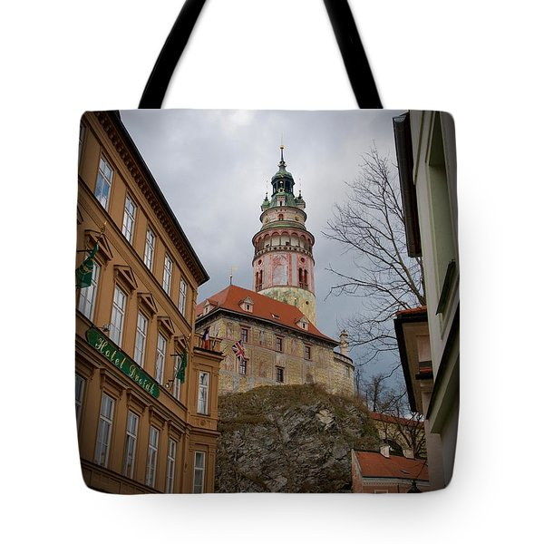 Tote Bag featuring the photograph Cesky Krumlov II by Louise Fahy