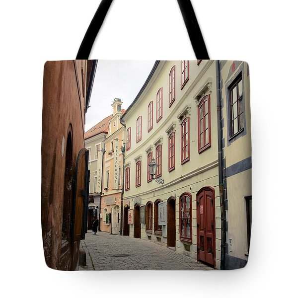 Tote Bag featuring the photograph Cesky Krumlov IIi by Louise Fahy