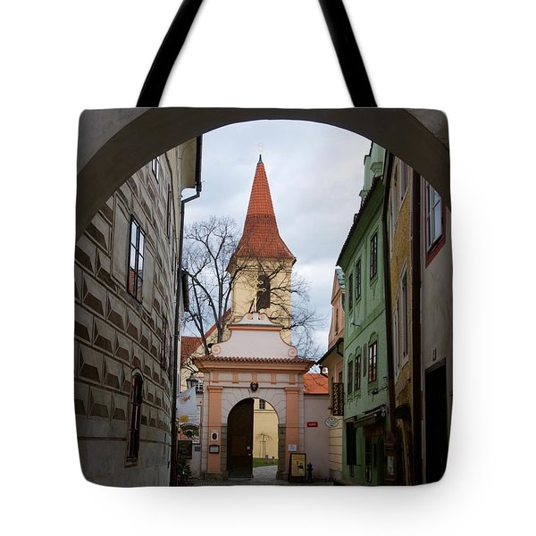 Tote Bag featuring the photograph Cesky Krumlov by Louise Fahy