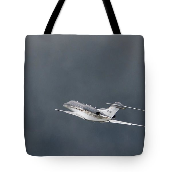 Tote Bag featuring the photograph Cessna 750  by Guy Whiteley