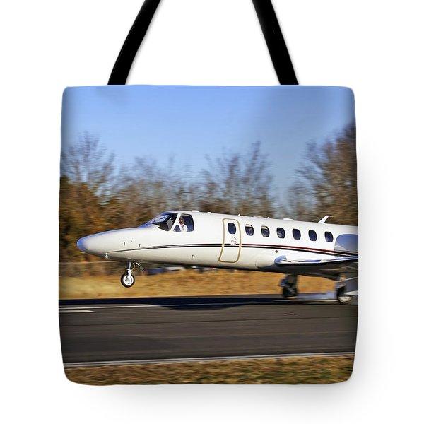 Cessna Citation Touchdown Tote Bag