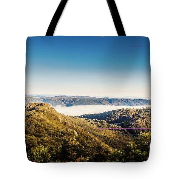 Cethana Range Tasmania Tote Bag