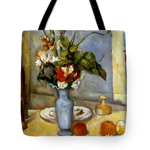 Cezanne: Blue Vase, 1885-87 Tote Bag by Granger