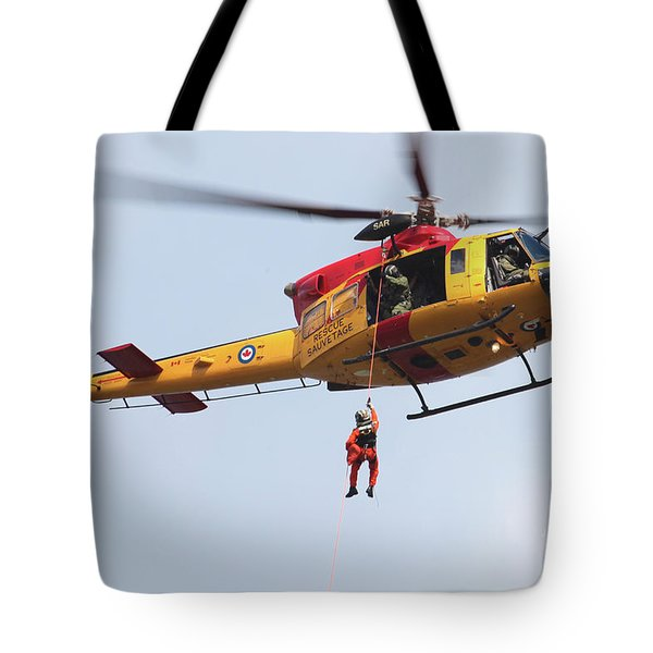 Ch-146 Griffon Of The Canadian Forces Tote Bag by Timm Ziegenthaler