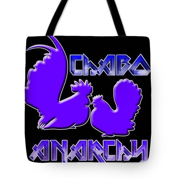Chabo Anarchy Bluepurple Tote Bag