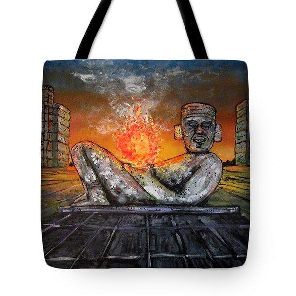 Chacmool Tote Bag