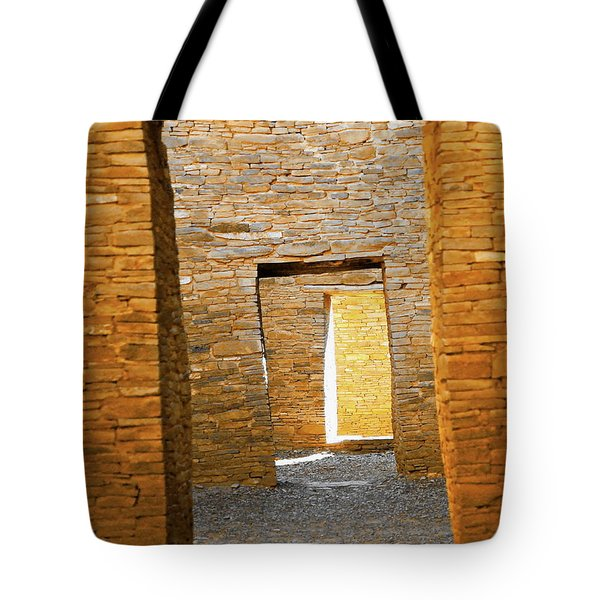 Chaco Canyon Doorways Tote Bag