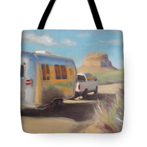 Chaco Canyon Glamping Tote Bag