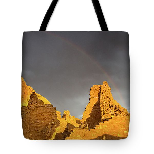 Chaco Canyon Rainbow Tote Bag