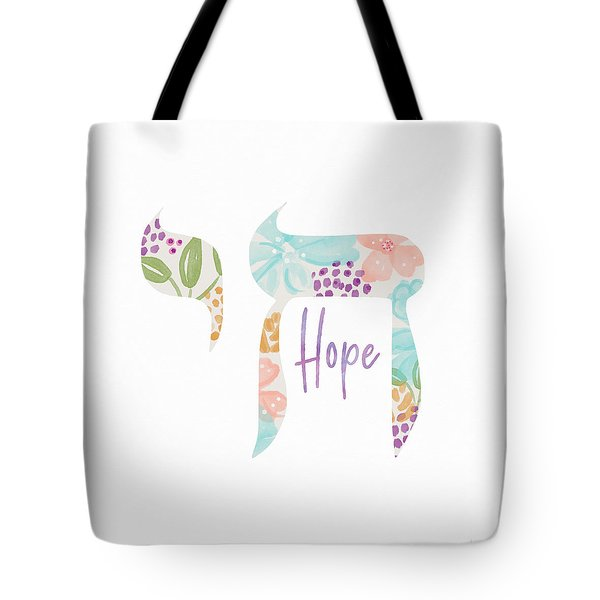 Chai Hope- Art By Linda Woods Tote Bag
