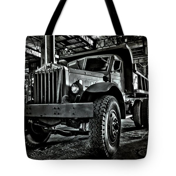 Chain Drive Sterling Tote Bag