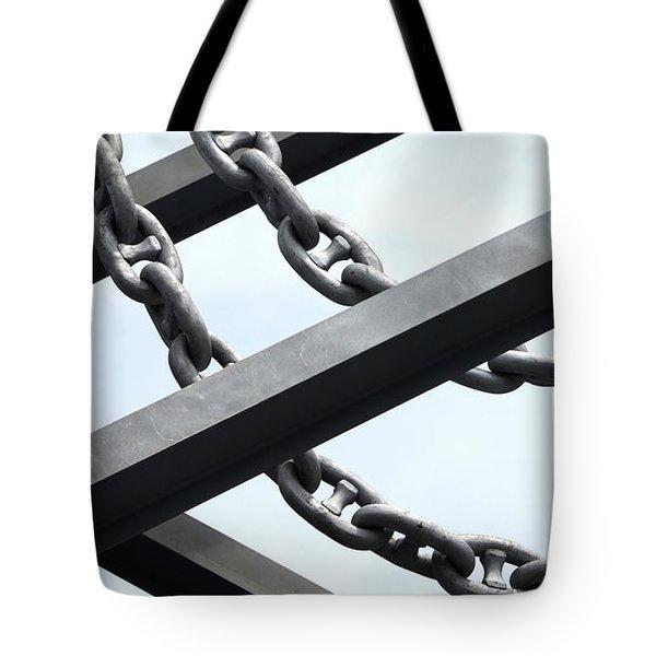 Chain Links Tote Bag