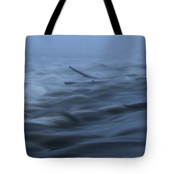 Chain Of Rocks On The Mississippi River Tote Bag