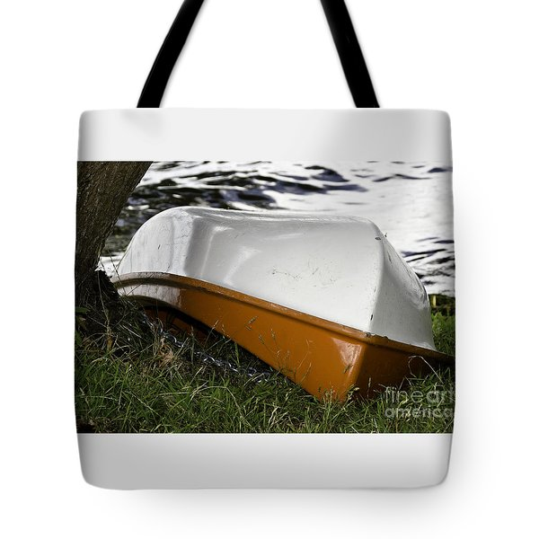 Chained Little Boat Just Waiting Tote Bag