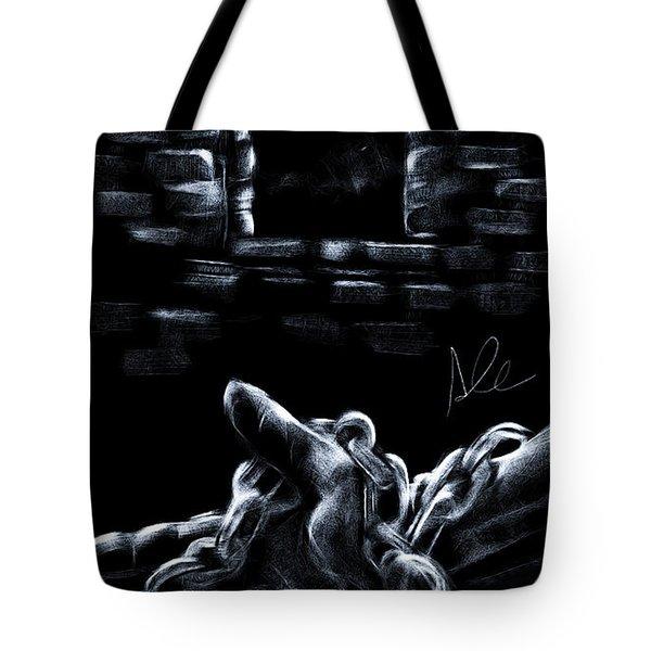 Chains Tote Bag