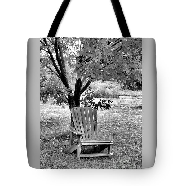Chair Tote Bag by John Krakora