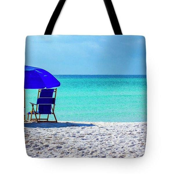 Beach Chair Pair Tote Bag