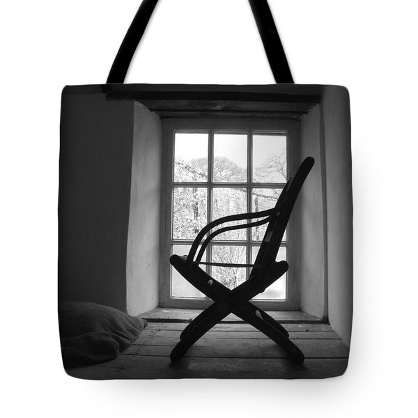 Chair Silhouette Tote Bag