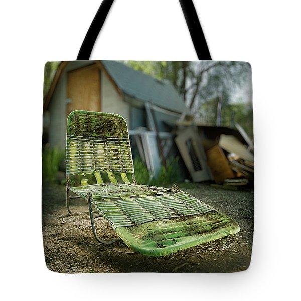 Chaise Lounge Tote Bag by Yo Pedro