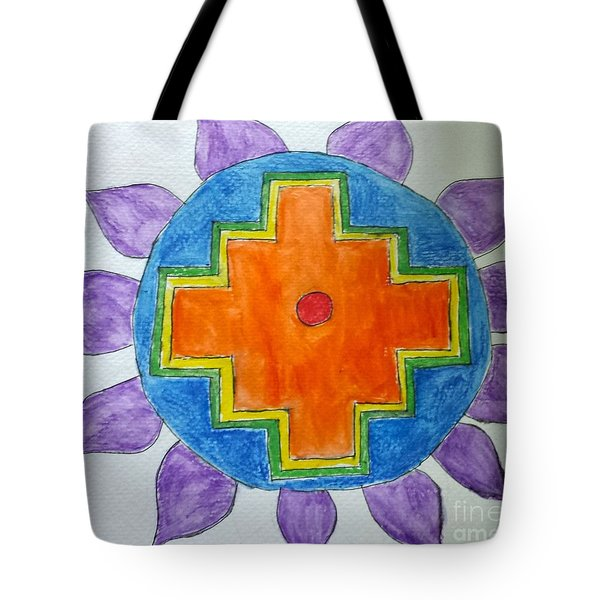 Chakana Inka Cross Tote Bag