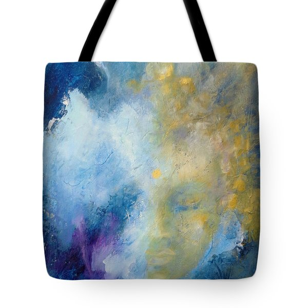 Tote Bag featuring the painting Chakra by Dina Dargo