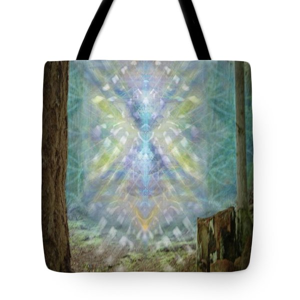 Chalice-tree Spirt In The Forest V2 Tote Bag by Christopher Pringer