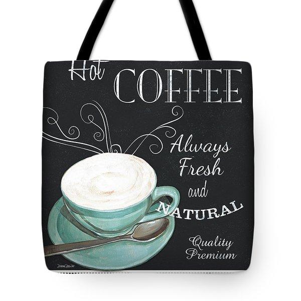 Chalkboard Retro Coffee Shop 1 Tote Bag