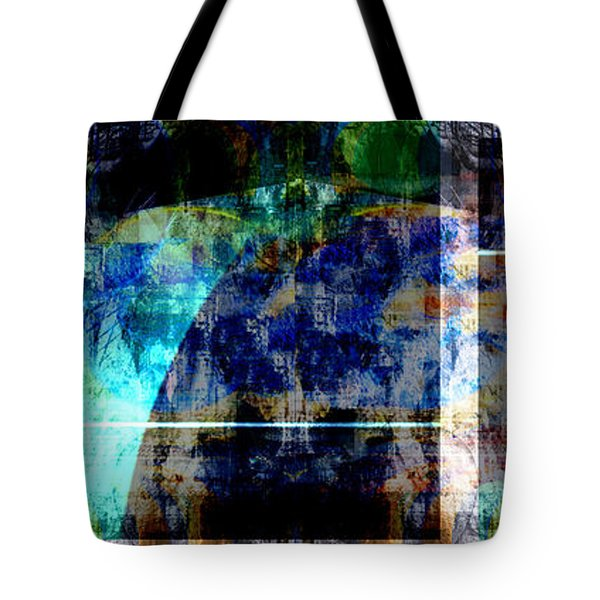 Tote Bag featuring the digital art Challenge by Art Di