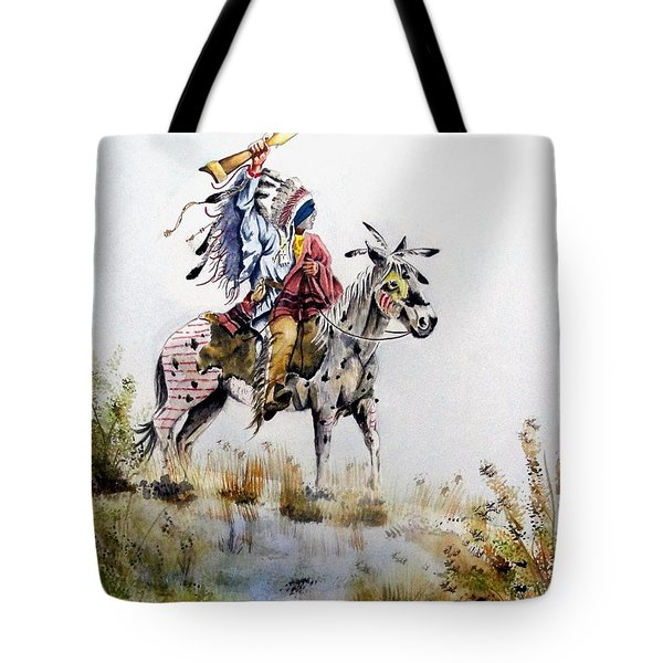 Challenge Tote Bag by Jimmy Smith