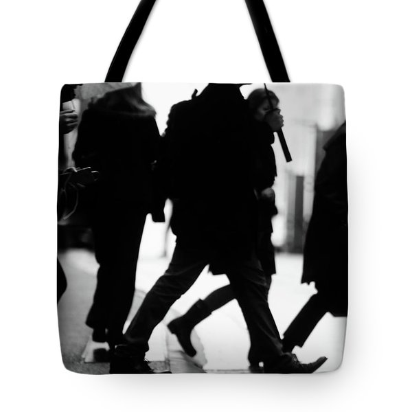 Tote Bag featuring the photograph Challenge Of Peace  by Empty Wall