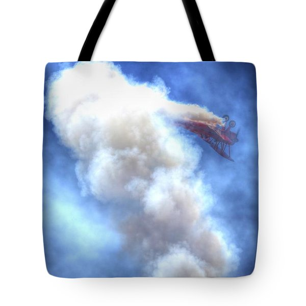 Tote Bag featuring the photograph Challenge The Four Forces by John King