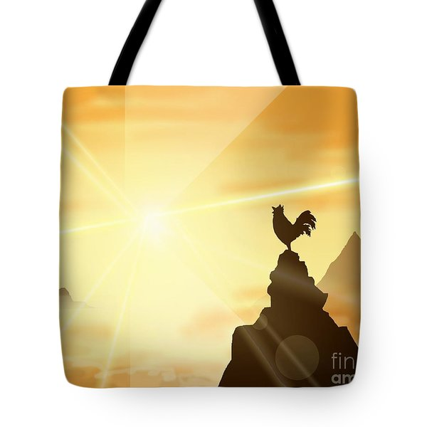 Challenge The Sun Tote Bag